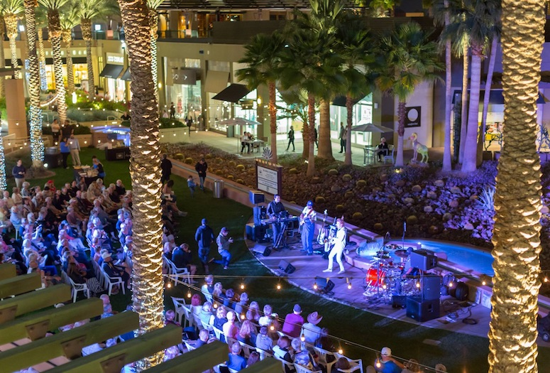 The Gardens on El Paseo 21th annual concert series.