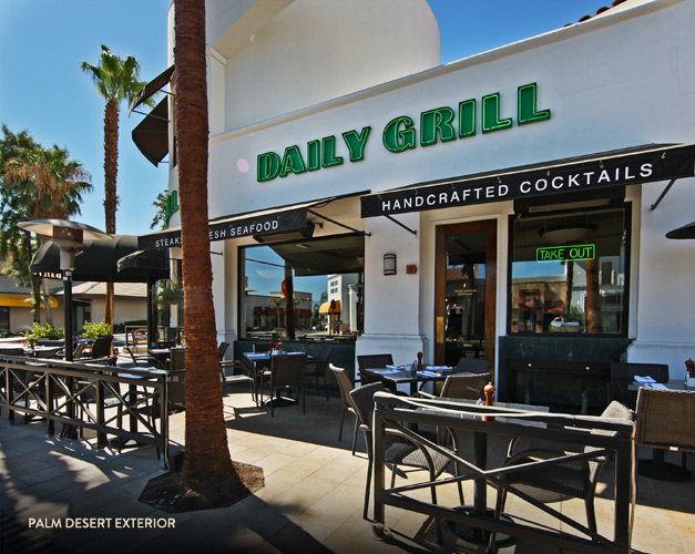Weekend Brunch At The Daily Grill On El Paseo In Palm Desert