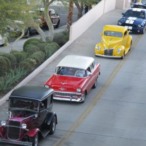 First Friday El Paseo Cruise Nights at The Gardens