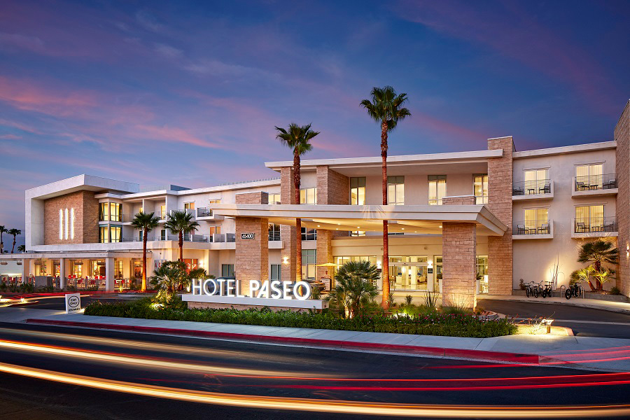 Find your path at Hotel Paseo, the first new luxury hotel in Palm Desert in over 30 years. This boutique property is steps from upscale shopping, art galleries, restaurants, and nightlife on El Paseo