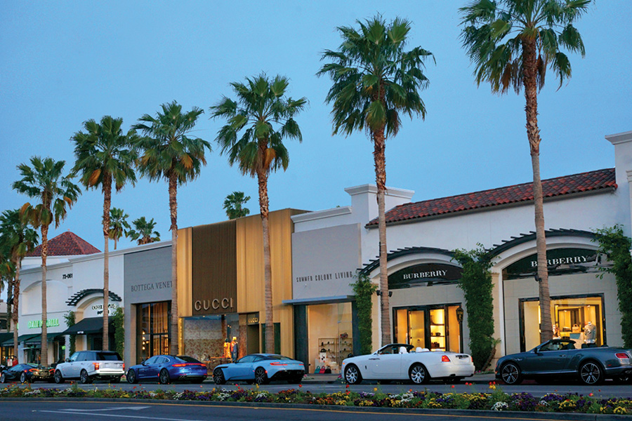 Located in Palm Desert, California, the heart of the vibrant Coachella Valley, The Shops on El Paseo is the desert's premier luxury shopping and dining destination.